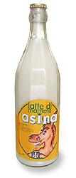 latte di asina fresco